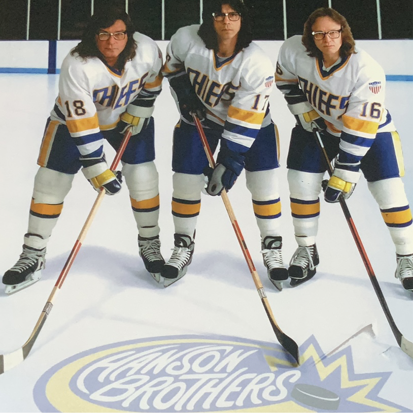 Autographed - Brothers on Ice logo Photo