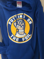 ‼️NEW‼️ Putting on the Foil Hoodie