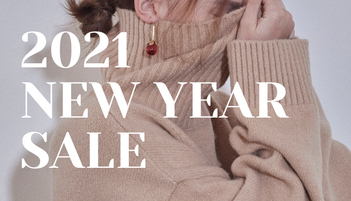 2021 NEW YEAR SALE 開催