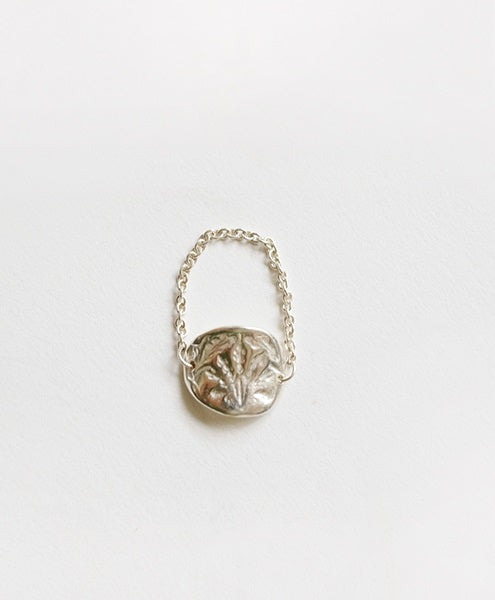 Oat Chain Ring (Silver)