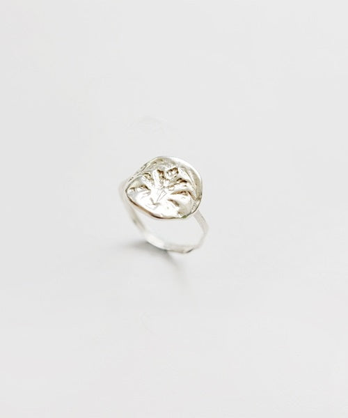 Oat Stamp Ring (Silver)