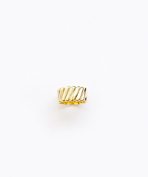 Bulging Ring - Gold