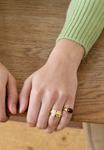 Small Bold Setting Ring - Gold