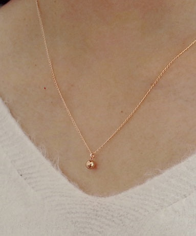 5mm Ball Necklace