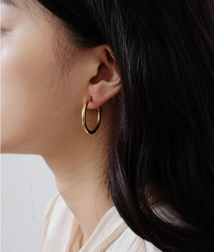 Simple Hoop Earrcuff