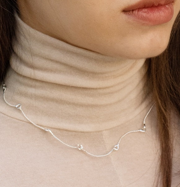Silver Pado Necklace