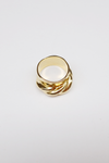 Board Twist Ring - Gold, Silver