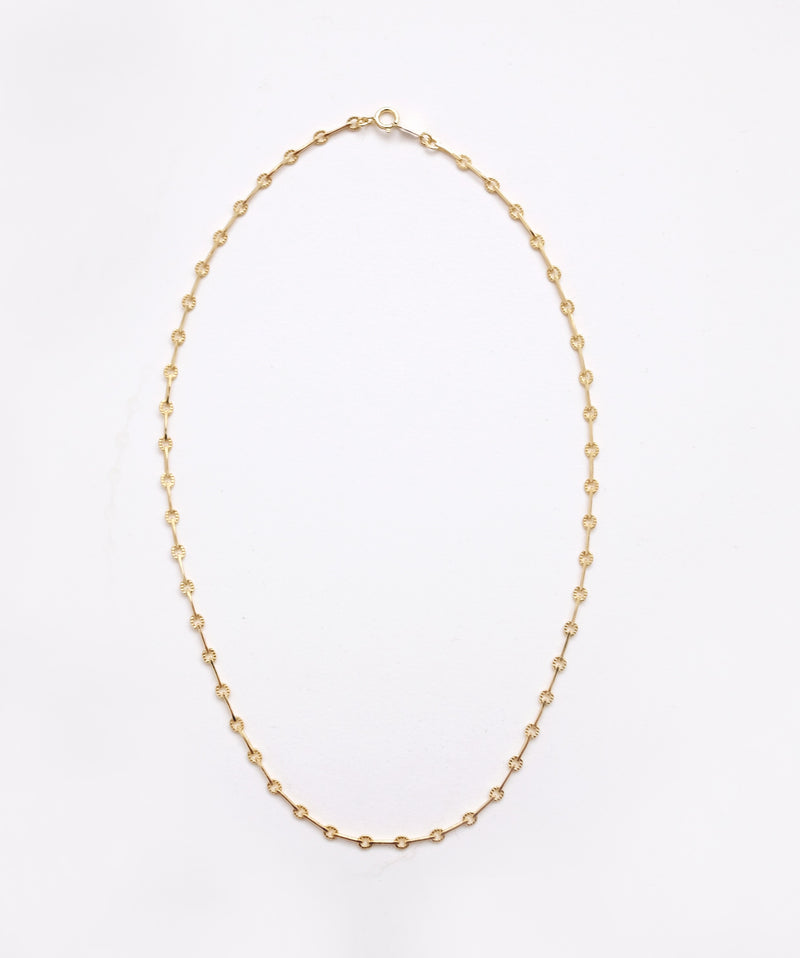 Middle Bar Chain Necklace