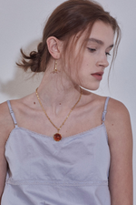 Pumpkin Point Necklace