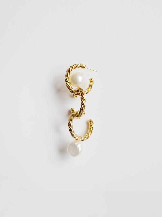 Antique Twist Three Ring Pierce(片側)