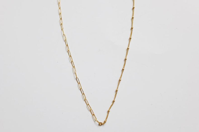 Square Ball Chain Necklace