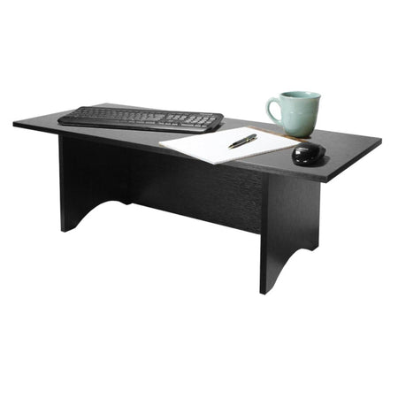 "25""H Miracle Desk Portable Black - The SheEO Store"