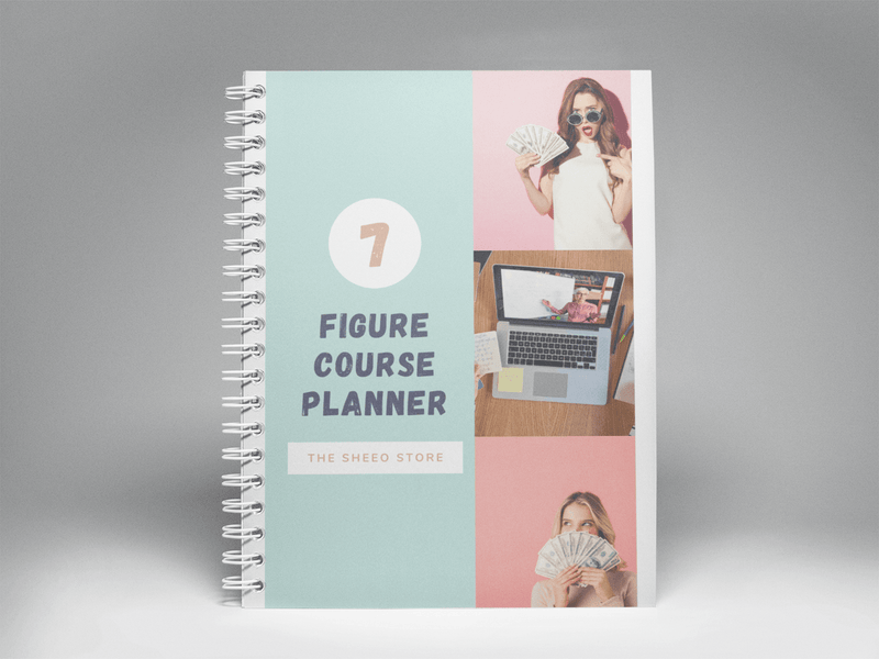 7 Figure Course Planner - The SheEO Store