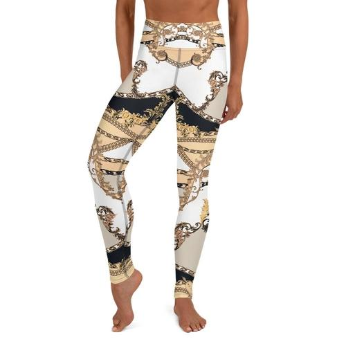 Art Deco High Waisted Leggings - The SheEO Store
