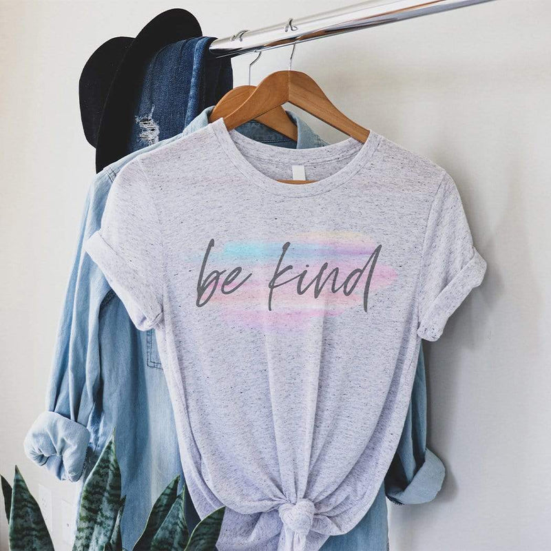 Be Kind Watercolor Graphic T-Shirt - The SheEO Store