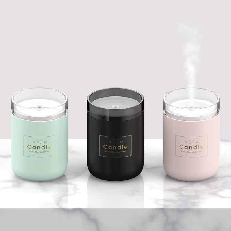 Candle USB Air Humidifier Diffusers, Oils & Candles Violet Perseus