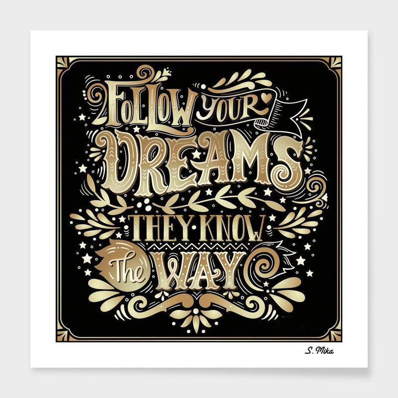 Follows Your Dreams Frame - The SheEO Store