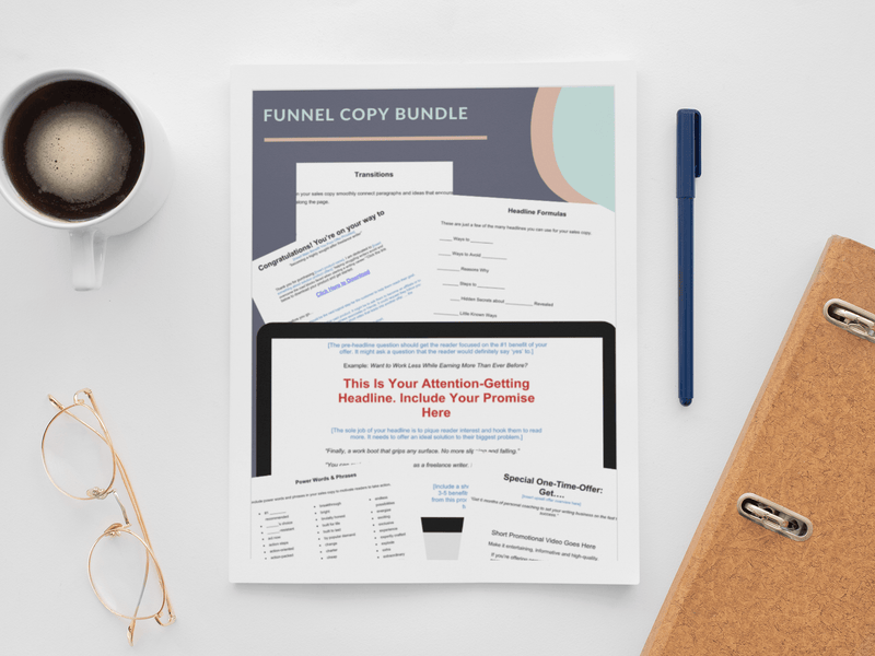 Funnel Copy Bundle - The SheEO Store