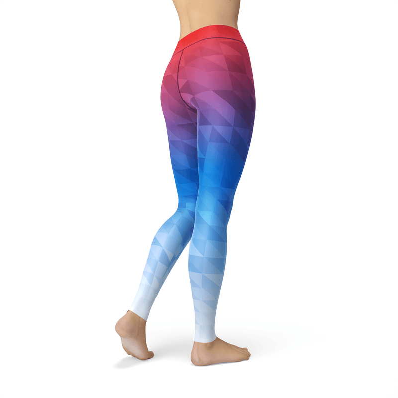 Mixed Triangles Leggings - The SheEO Store