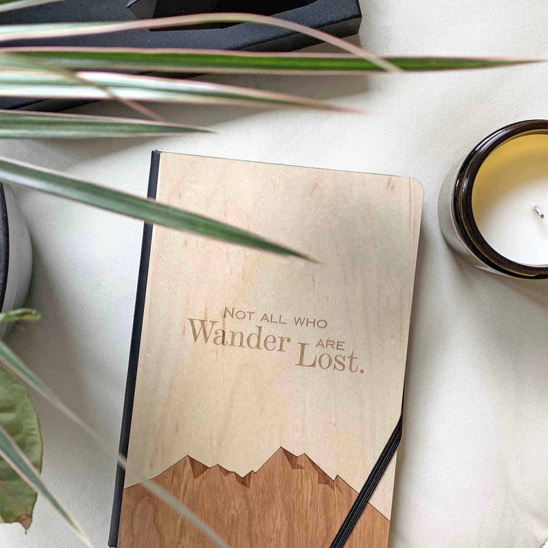 Not All Who Wander Notebook - The SheEO Store