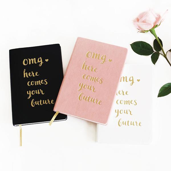 OMG Journal Black Gifts Magenta Lelantos