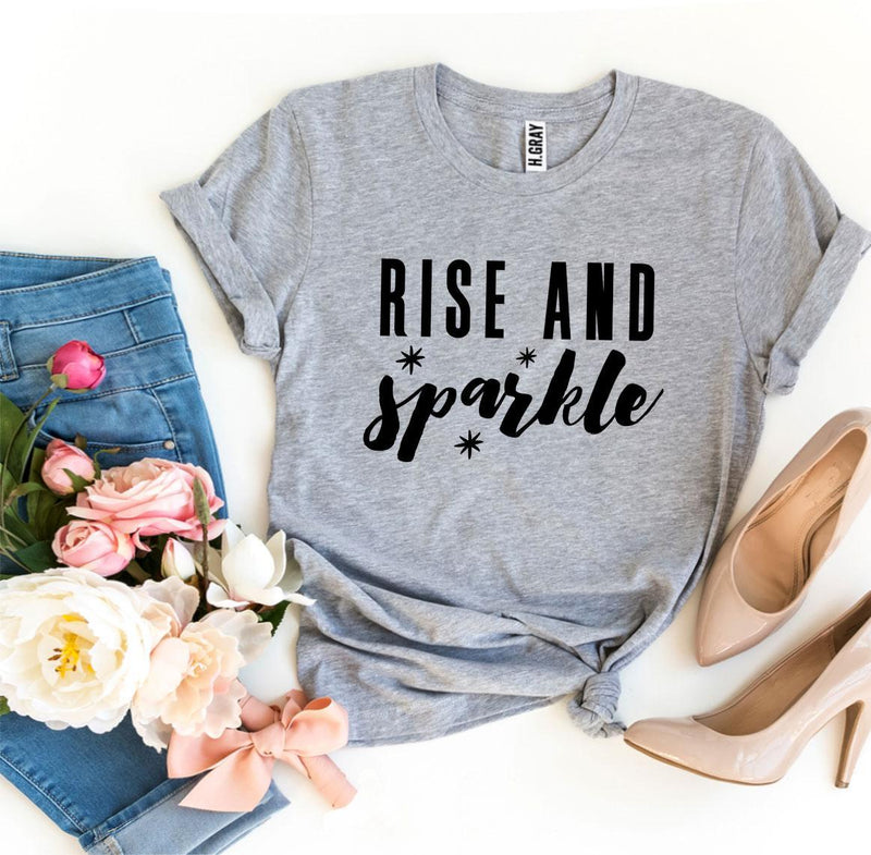 Rise And Sparkle T-shirt T-shirts Agate