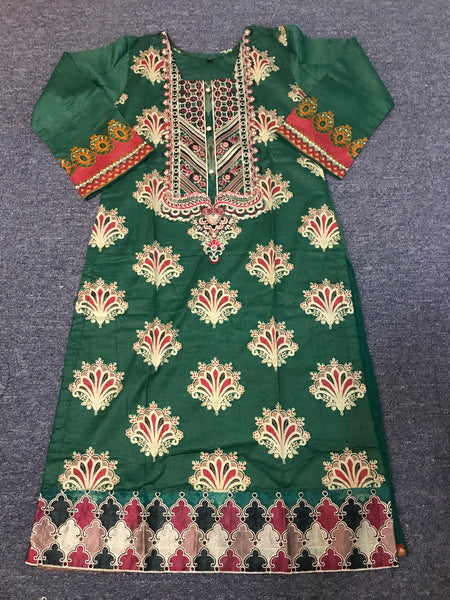 Khaadi Virani Pakistani Lawn  [Ready made, Fully Stitched]