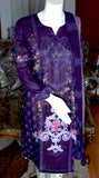 Maria B Lawn Summer Collection [Purple]  [Ready made, Fully Stitched]