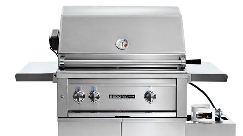 "30"" Freestanding Sedona ADA Grill with Rotisserie"