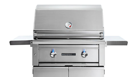 "30"" Freestanding Sedona Grill, 2 SS Tube Burners - Ships Assembled"
