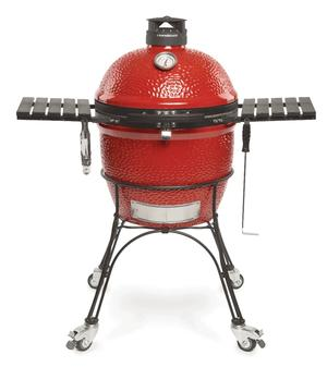 Kamado Classic Joe II w/ Cart, Side Shelves, Heat Deflector & Tools w/ KJ-CBH