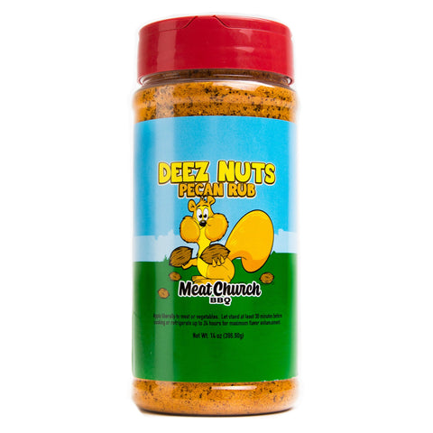 Meat Church Deez Nuts Pecan Rub