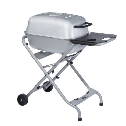 The Original PK-TX Grill & Smoker Silver