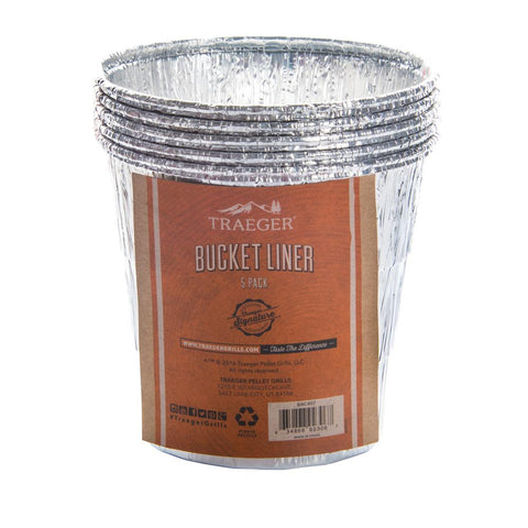 Traeger Grease Bucket Liner 5 Pack