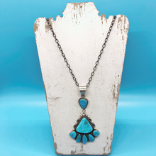 Load image into Gallery viewer, Handcrafted Turquoise Necklace