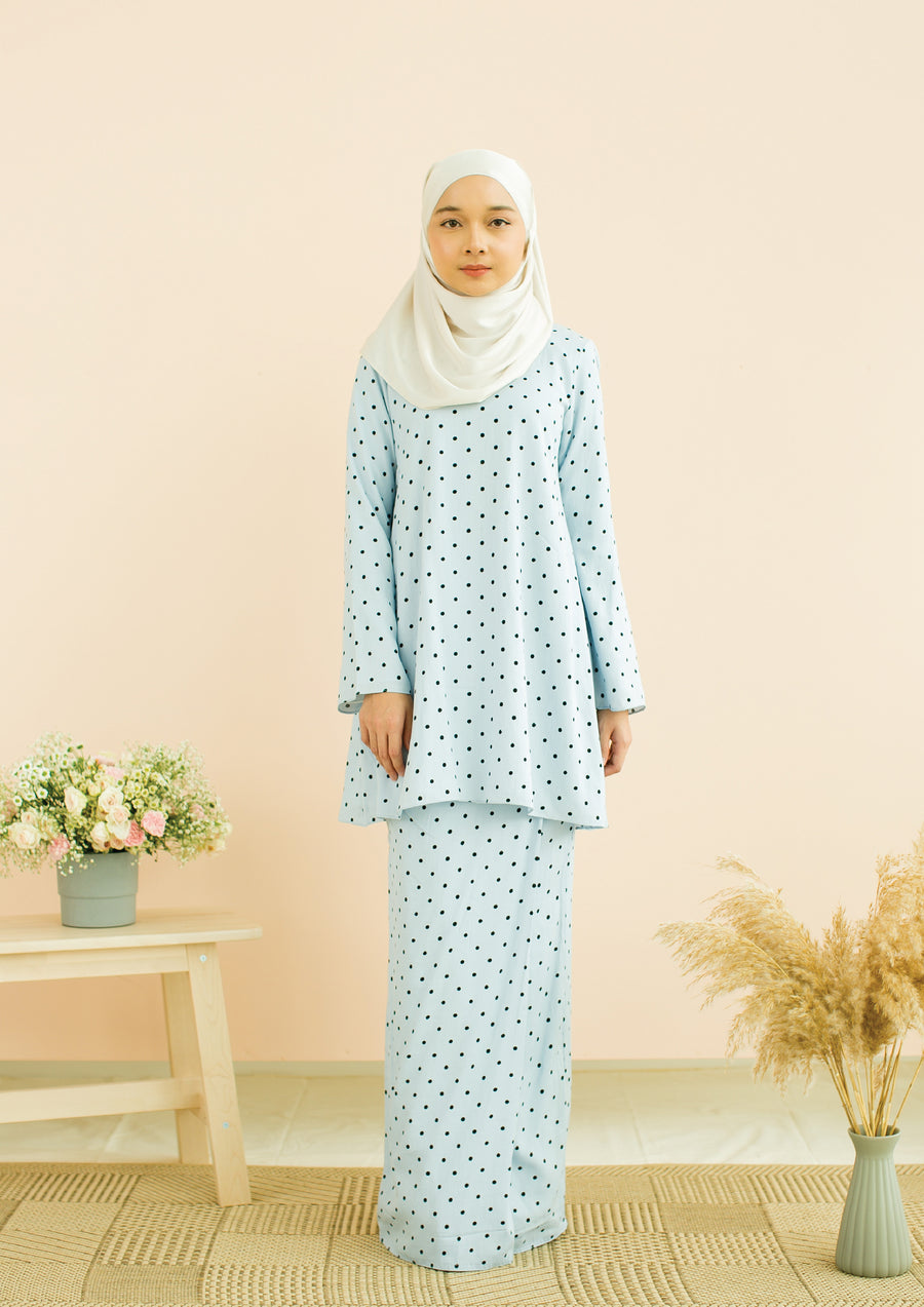Light Blue Kurung