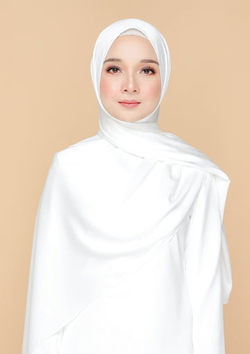 Nanalaff Shawl Off White