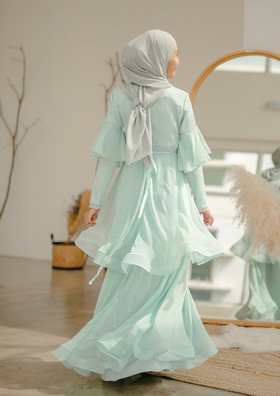 Ana Dress Mint Green