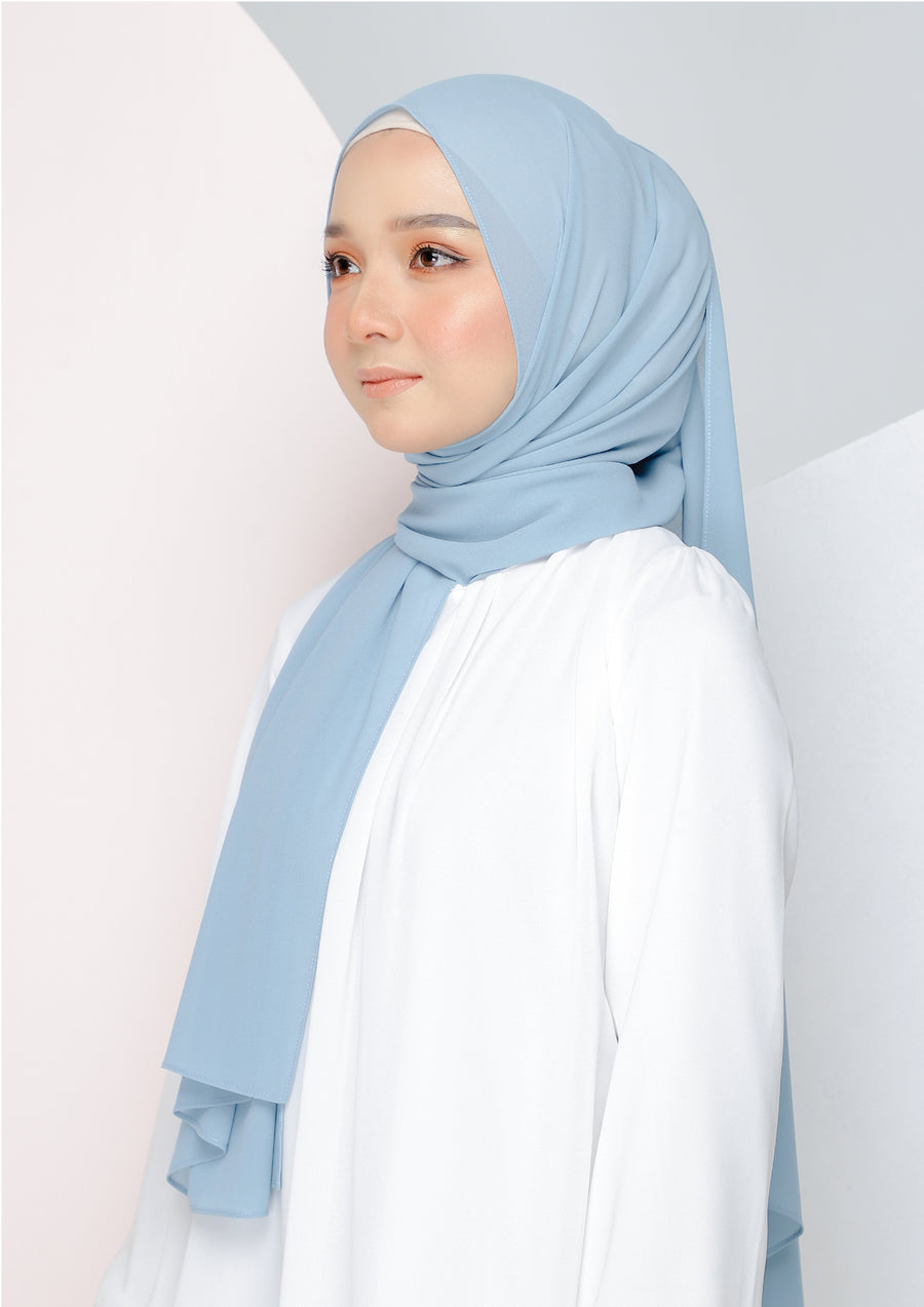 Basic Shawl Turkish Blue