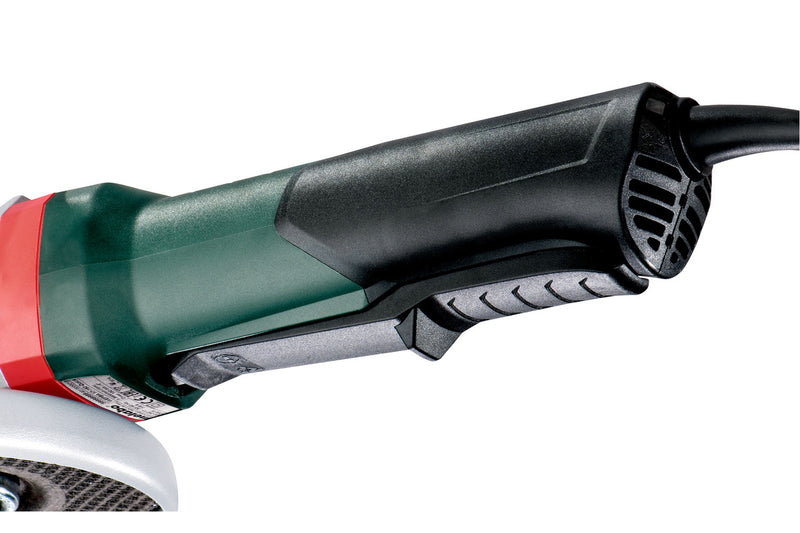 "6"" ANGLE GRINDER - 10,000 RPM - 12.0 AMPS - W/ NON-LOCKING PADDLE, BRAKE, TETHER POINT"