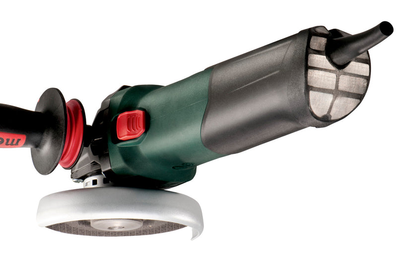 "Metabo 600517420 4.5"" / 5"" Variable Speed Angle Grinder - 2,000-7,600 RPM - 14.5 Amps - w/ Lock-On, Electronics, High Torque"