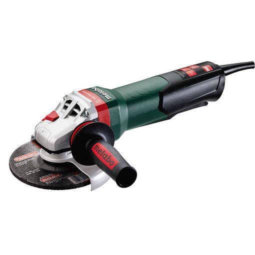 "WPB 12-150 QUICK 10.5AMP 6"" ANGLE GRINDER WITH BRAKE/NON-LOCKING PADDLE SWITCH"