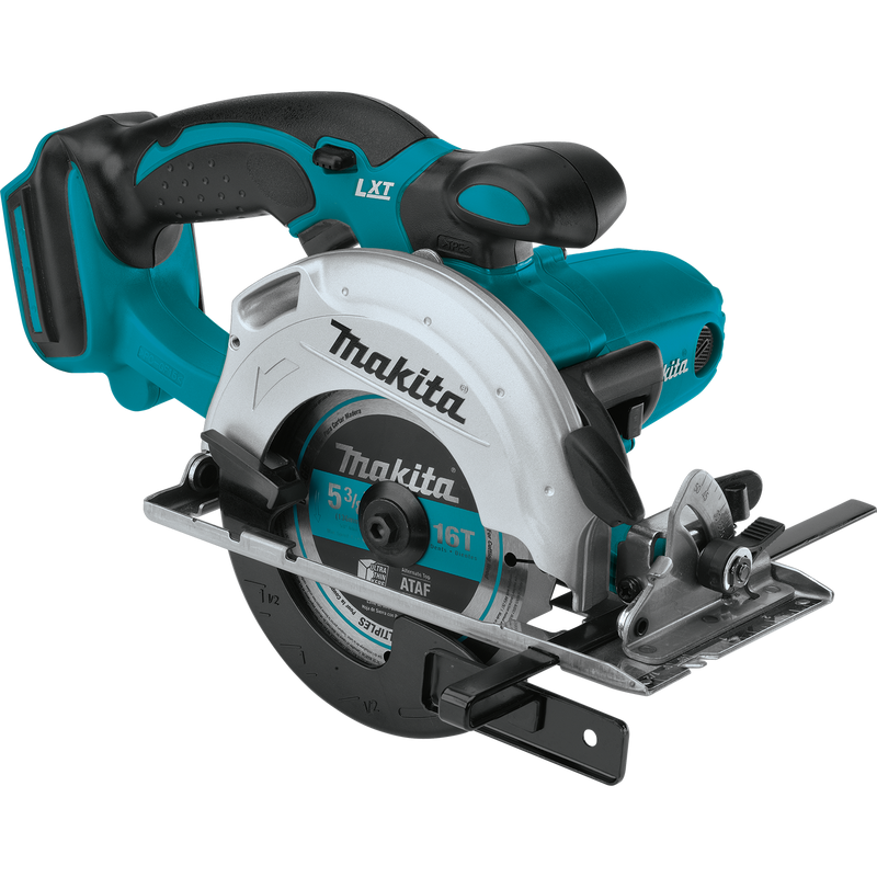 "Makita XSS03Z 18V LXT® Lithium‑Ion Cordless 5‑3/8"" Circular Trim Saw, Tool Only (Pack of 2)"