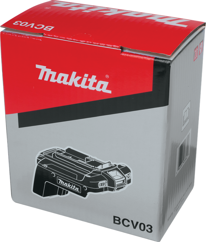 Makita BCV03 36V Cordless Adapter (Pack of 12)