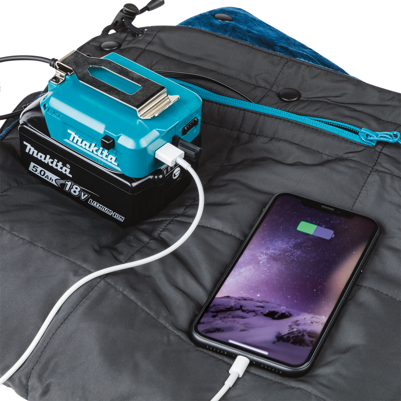 Makita DCB200A 18V LXT® Lithium‑Ion Cordless Heated Blanket, Blanket Only (Pack of 10)