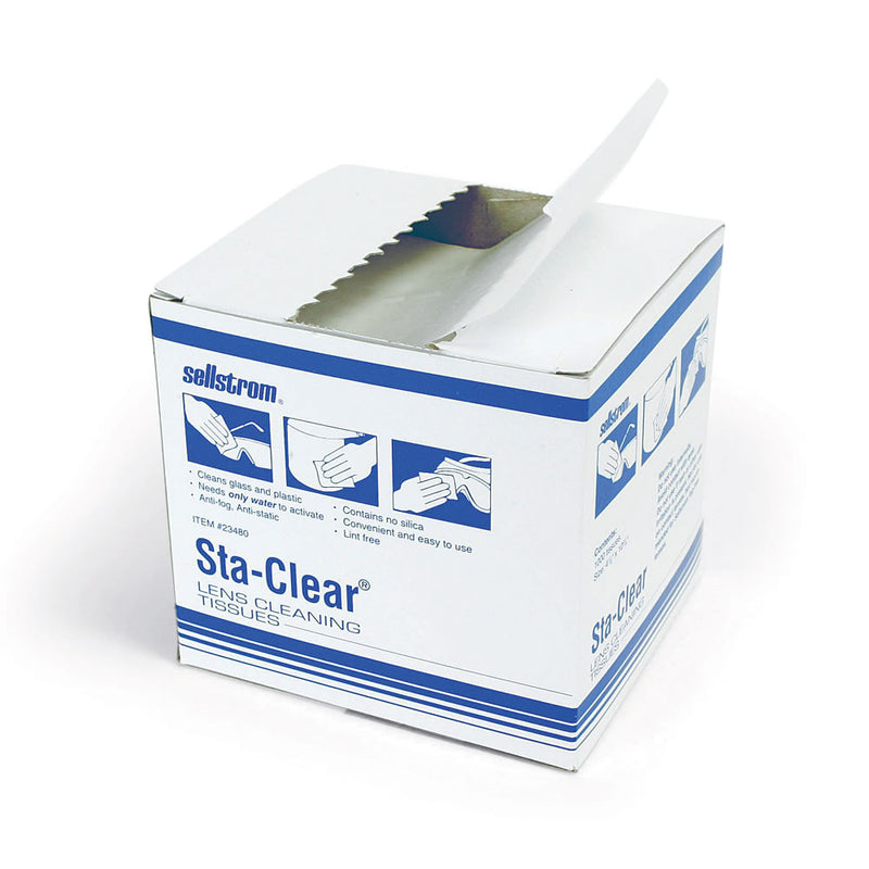 Surewerx S23480 Sta-ClearTM Lens Cleaning Tissues (Case of 36 Box)