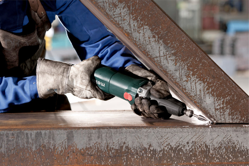 "Metabo 613060420 4.5""/5"" Flat Head Grinder - 8.0 Amp w/Lock-On, Electronics"