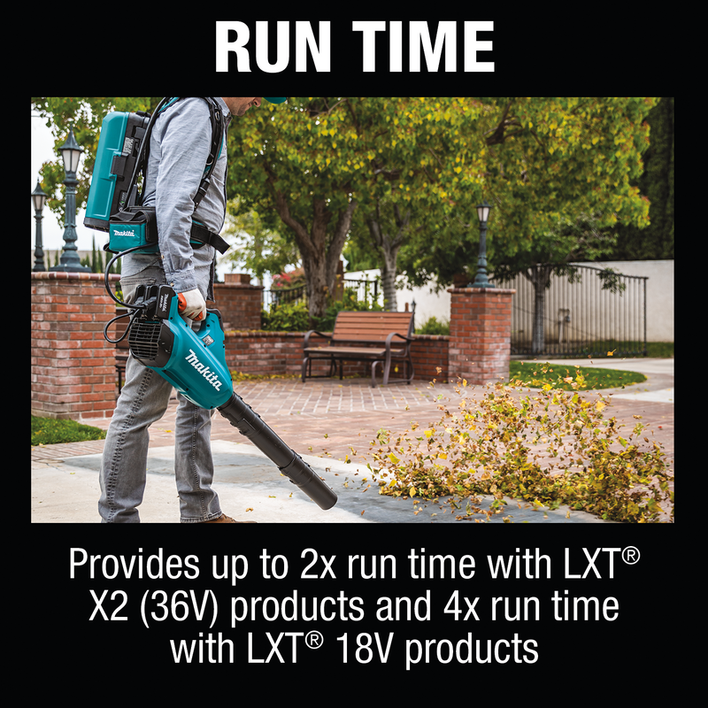 LXT® and LXT® X2 (36V) Portable Backpack Power Supply