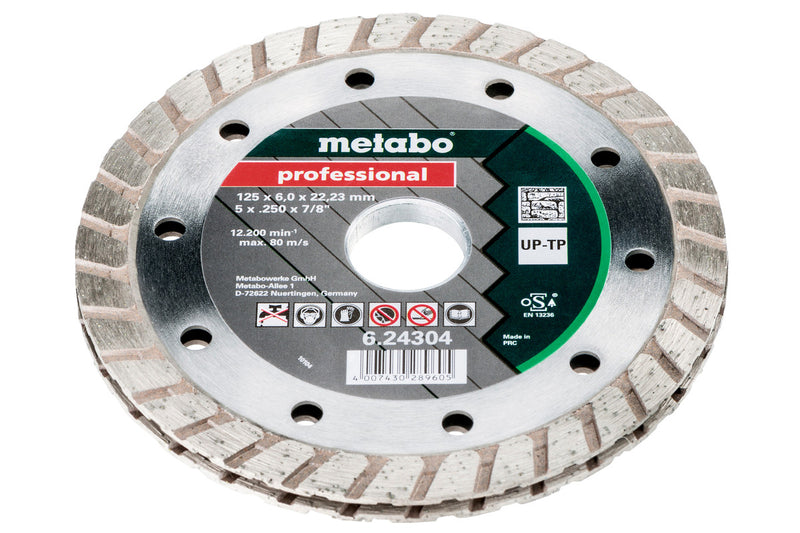 "Metabo 624304000 5""X1/4"" Turbo Sandwich Tuckpoint Blade"