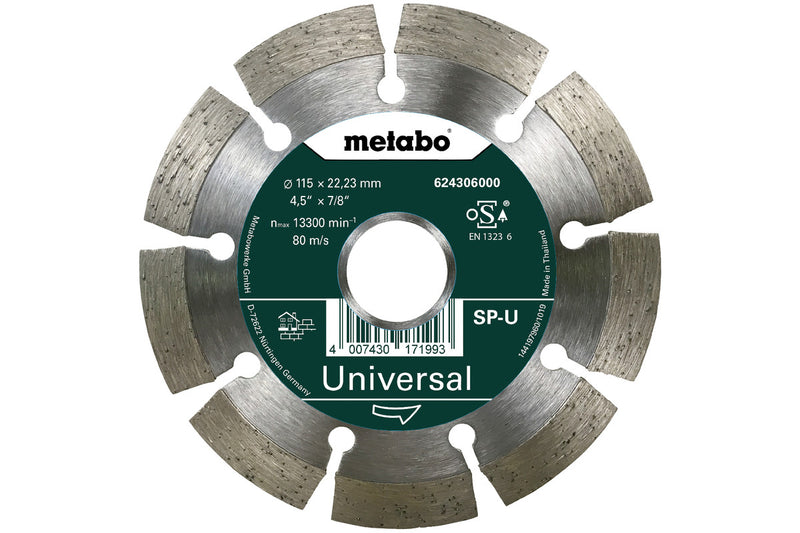 "4-1/2""X7/8 DIAMOND CUTTING DISC W9-115K, (Pack of 3)"